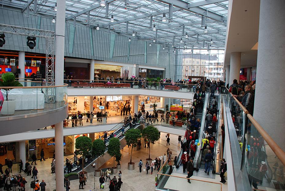 Inside Shopping Centre Budapest